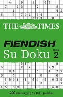 The Times Fiendish Su Doku Book 3. 200 Challenging Puzzles from the Times (Paper