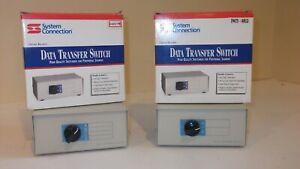 Data Transfer Switch DB25 4-Way Switch & DB50 2-Way Switch (New In Box)