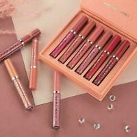 6PCS/Set Long Lasting Lip Gloss Beauty Glazed Matte Liquid Make Up Lipstick Lips