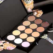15 Color Camouflage Concealer Make Up Cream Palette  Eyeshadow Cosmetic