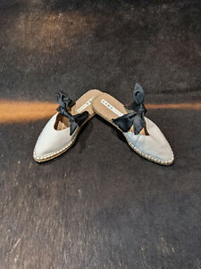 ZARA Womens slide shoes