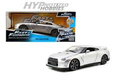 JADA 1:24 FAST AND FURIOUS BRIAN'S  NISSAN GT-R R35 SILVER 97212