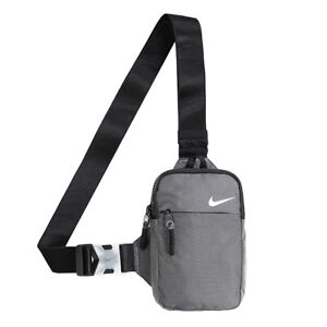 Nike Sportswear Essential Hip Sack Cross Body Bag Gray CV1064-010
