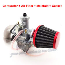 26mm Mikuni VM22 Carburetor Intake Pipe Air Filter For Dirt Bike 110 125 140 cc