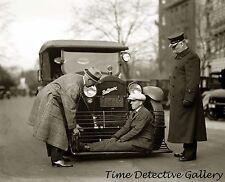 Vintage Auto Safety Device Demonstration - 1924 - Historic Photo Print
