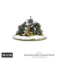 Warlord Games Bolt Action - German Heer Medium Mortar team Winter - 403012004