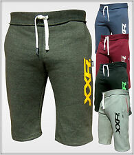 Men's Fleece Shorts Cotton Jogging Casual Home Gym Wear Martial Art MMA Boxing