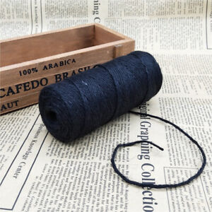 3Ply Burlap Natural Fiber Jute Twine Rope Cord String Craft DIY Decor 100M New