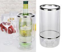 Flaschenkühler Sektkühler Weinkühler doppelwandig   12 cm H = 23 cm Kunststoff