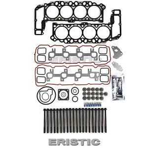 99 00 01 02 03 DODGE JEEP 4.7L CYLINDER HEAD GASKET SET+BOLTS 287CID V8 VIN N