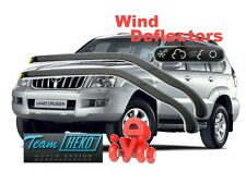 Wind deflectors Toyota Land Cruiser J120 2003 - 2009  HEKO 29354 for FRONT DOORS