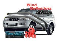Toyota Land Cruiser 120 2003 - 2009 Wind deflectors HEKO 29354 for FRONT DOORS