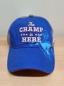 WWE John Cena Hat The Champ Is Here Blue/Gray Baseball Cap Youth Boys Adjustable