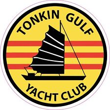 Tonkin Gulf Yacht Club Vinyl Sticker Decal