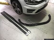 VW GOLF R MK7 REVO STYLE SIDE SKIRTS CARBON FIBER