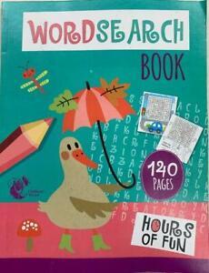 Wordsearch 140 Page Book Children Kids Activity Book