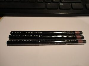 3 AVON glimmerstick lip liner MYSTERY MAUVE lot of 3 NEWmfg sealed discountinued