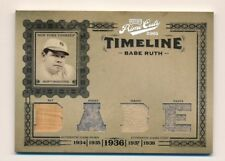2005 Prime Cuts * BABE RUTH * Game Used Bat Pants Dual Jersey 'BABE' * #17/50