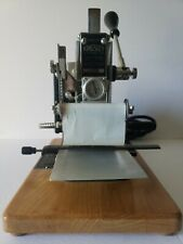 Kingsley Machine Hot Foil Stamping Machine M-75