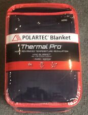 Polartec Berkshire Blanket Thermal Pro Midnight Blue King New