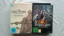 The Last Story & Pandora's Tower Limited Edition New PAL UK Nintendo Wii RARE