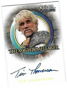 Xena Beauty & Brawn - A31 Tim Thomerson - Mighty Meleager Auto/Autograph Card