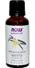 New Now Foods Essential Oils Vanilla In Jojoba Daily Aromatherapy Relaxing Care