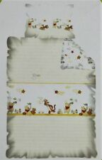 Disney Winnie The Pooh & Tigger Baby Toddler Bedding Set 100% COTTON yellow