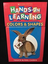 Scholastic Hands-On Learning: Colors and Shapes (2003, Merchandise, Other)