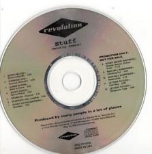 Revolution label, Stuff; Pr CD w/ Rare Live Kenny Wayne Sheppard Track