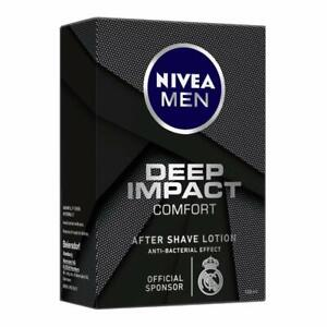 Nivea Men Deep Impact Comfort After Shave Lotion - 100 ML - Free Shipping