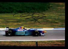 Heinz-Harald Frentzen Foto Original Signiert Formel 1 +G 18578