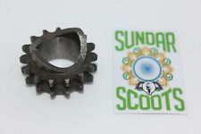FRONT SPROCKET 16 TOOTH SIZE. SUITABLE FOR LAMBRETTA GP, LI, SX & TV SCOOTERS