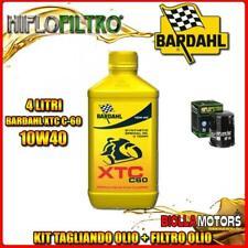 KIT TAGLIANDO 4LT OLIO BARDAHL XTC 10W40 YAMAHA FJR1300 AE 1300CC 2009-2010 + FI