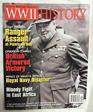 World War II WW2 Military Army Magazine EARLY WINTER 2012 Vol. 11 #1 NEW!