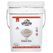 Augason Farms Quick Rolled Oats Emergency Food - 10lb Pail