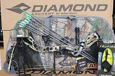 2018 Diamond by Bowtech Infinite Edge SB-1 Camo BOW Package LH 7-70# Camo Case