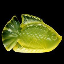 TOP OPAL FISH CARVING : 32,84 Ct Natürlicher Gelber Feuer Opal aus Mexiko