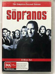The Sopranos - Complete Second Season - 6 DVD Set - AusPost with Tracking
