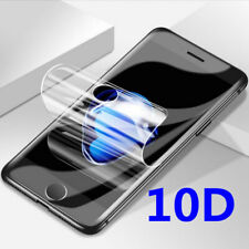 For iPhone X Xs Max XR 7 8 Plus  10D Hydrogel Film Full Cover Screen Protector