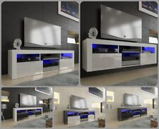 NEW 2020! Superb TV Stand Unit Cabinet 160cm + Floating/Standing + Gloss + LED