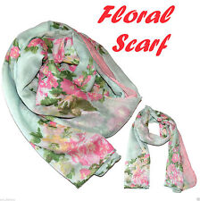 Viscose/Rayon Shawls/Wraps Floral Scarves & Shawls for Women