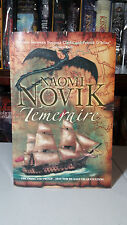 ~1st SIGNED Uk ARC/Proof~ Temeraire (His Majesty's Dragon) by Naomi Novik