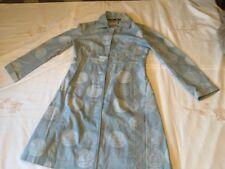 White Stuff Pale Blue Coat Size 12