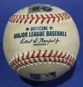 """SNELL """"K"""" ALBERTO RAYS ORIOLES GAME USED BASEBALL SEPTEMBER 17 2020 MLB HOLO"""