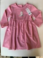 Gymboree Knit Pink Dress Girl's 3T Cowgirl Boot Retired 2007 100% Cotton NWT