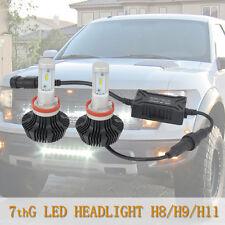 G7th H11 H8 H9 H16 LED Headlight Conversion Kit 80w 6500K White Light Bulb Lamp