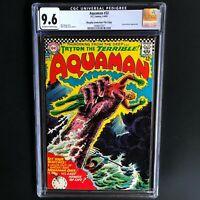 AQUAMAN #32 (DC 1967) 💥 CGC 9.6 - HIGHEST GRADED (1 of 3) 💥 OCEAN MASTER APP!