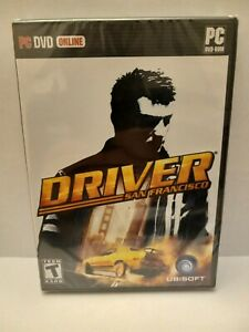 Brand New Sealed Driver San Francisco PC Game SUPER MINTY NO TEARS ON SEAL! RARE