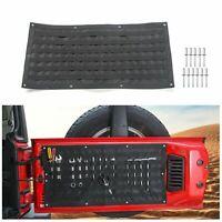 1pc Tailgate Tool Kit Canvas Bag Tool Organizer for Jeep Wrangler JK JKU JL JLU